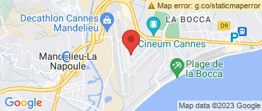 Aéroport de Cannes - Mandelieu - Plan