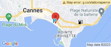 Restaurant LE RELAIS MARTINEZ - Plan