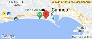 Belle Plage CANNES - Plan