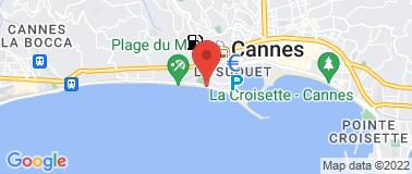 Belle Plage CANNES - Plan