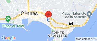 Clarion Suites Cannes Croisette - Plan