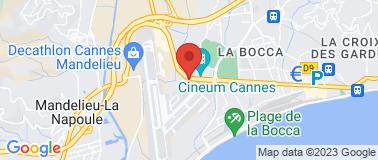 Station Total Mandelieu - Plan