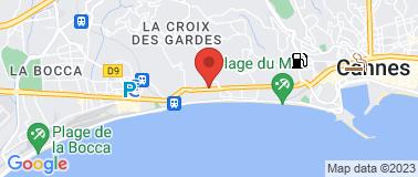 Station Agip La Bocca - Plan