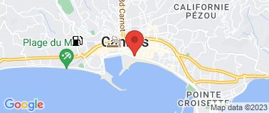 Le Fouquet\'s Cannes - Plan