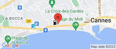Centre des Impots de Cannes - Plan
