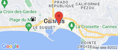 Hotel Majestic Barriere Cannes ***** - Plan