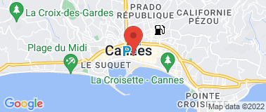 Five Seas Hotel Cannes ***** - Plan