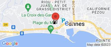 Boulodrome Henri Bergia - Plan