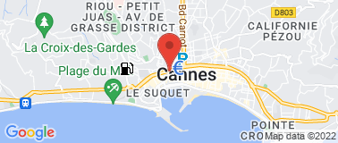 Taxis Riviera Cannes  - Plan