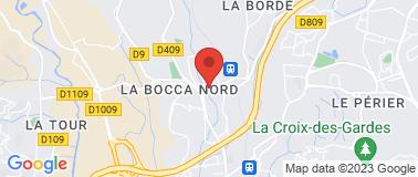 Station Leclerc La Bocca - Plan