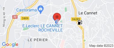 Station Leclerc Cannet - Plan