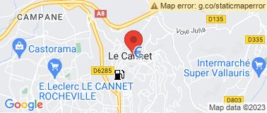 Musée Bonnard - Le Cannet - Plan