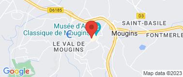 Restaurant LA PLACE DE MOUGINS - Plan