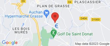 Les Caves de Regusse - Grasse - Plan