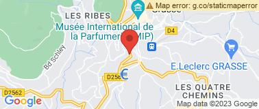 Molinard - Boutique & Musée - Plan