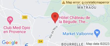 Valbonne Golf Club d\'Opio  - Plan