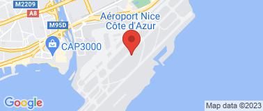 Aéroport Nice-Côte d\'Azur - Plan