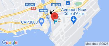 Avis Nice Aéroport T2 - Plan