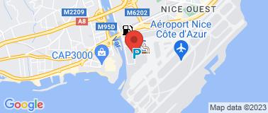 Europcar Aéroport Nice T2 - Plan