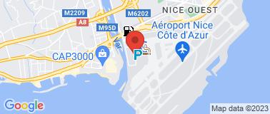Hertz Nice Aéroport T2 - Plan