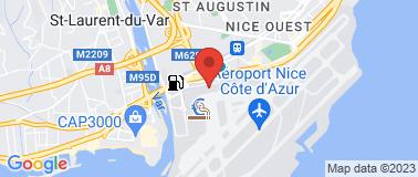 Chez Pipo - Aéroport NCA - Plan