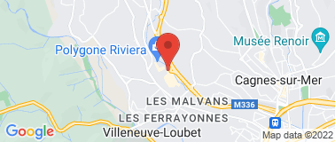 POLYGONE RIVIERA - Plan