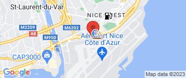 Sixt  Nice Aéroport - Plan