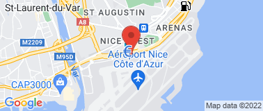 Avis Nice Aeroport T1 - Plan
