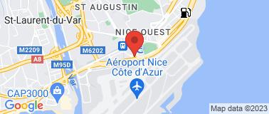 Hôtel Novotel Nice  Aeroport **** - Plan
