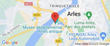 Musée de l\'Arles Antique - Plan