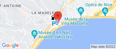 Piscine Jean Médecin - Plan