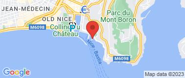 Club Nautique de Nice - Plan