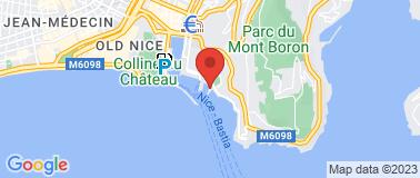 Le Club Nautique de Nice  - Plan
