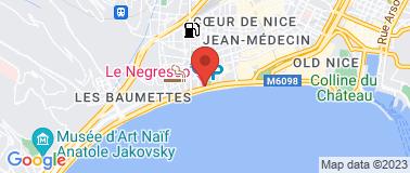 Hôtel Le Negresco ***** - Plan
