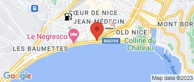 Mc Donald\'s Nice promenade - Plan