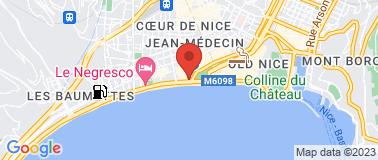 Le Méridien Nice **** - Plan