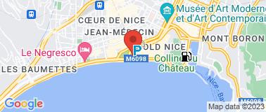 Hôtel Beau Rivage **** - Plan