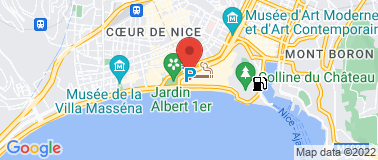 Marlone Café Nice Opéra - Plan