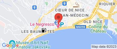Cinéma le Rialto Nice - Plan