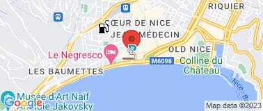 Galerie Ferrero - Plan