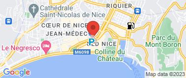 Office de Tourisme Nice - Paillon - Plan