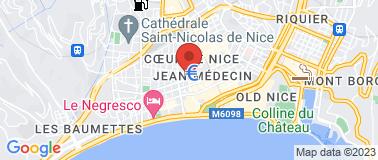 Hôtel La Villa Nice Victor Hugo *** - Plan