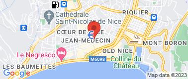 Hôtel Nice Riviera **** - Plan