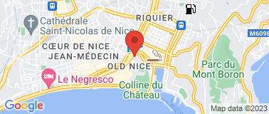 Chez René Socca - Plan