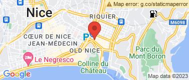 Cinéma le Mercury Nice - Plan