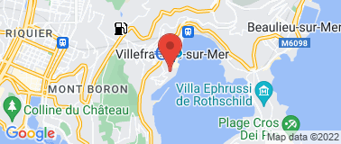 Citadelle Villefranche-sur-Mer - Plan