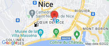 Cinéma Pathé Nice Masséna - Plan