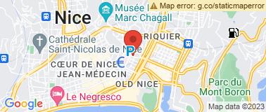 Impérial Hôtel Nice ** - Plan