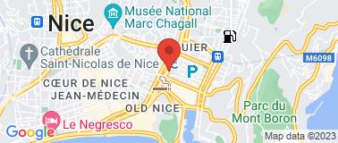 Adagio Access Nice acropolis - Plan