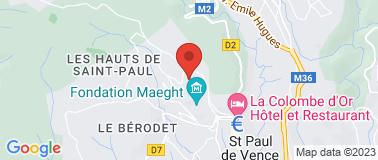 Hôtel Les Messugues*** - Plan